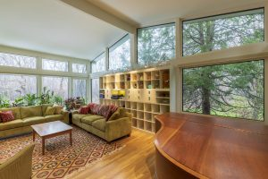 Quiet, Comfortable, and Low Carbon living room